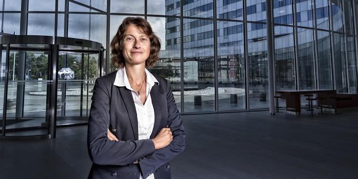Ericssons forskningschef Sara Mazur. Foto: Ericsson/Pressbild