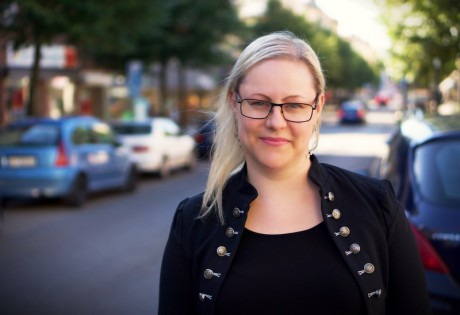 Anna Bergkvist. Foto: Marie Lindgren/Pressbild