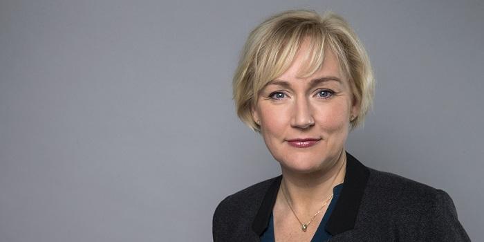 Minister för högre utbildning och forskning Statsråd Helene Hellmark Knutsson Utbildningsdepartementet. Foto: Kristian Pohl/Regeringskansliet
